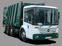 Zona comercial Refuse Trucks